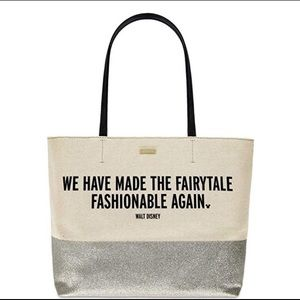 Kate Spade Disney tote Fairytale fashionable